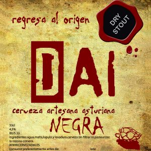 Cerveza Dai Negra