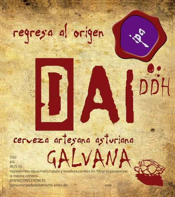 Cerveza Artesanal Ipa Dai Galvana